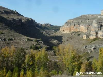Hoces del Río Duratón - Villa y Tierra de Sepúlveda;grandes rutas senderismo